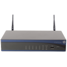 HP MSR920 2 porturi WAN FastEthernet 8 porturi LAN FastEthernet throughput max. 100Kpps b/g wireless